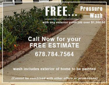 Free pressure wash